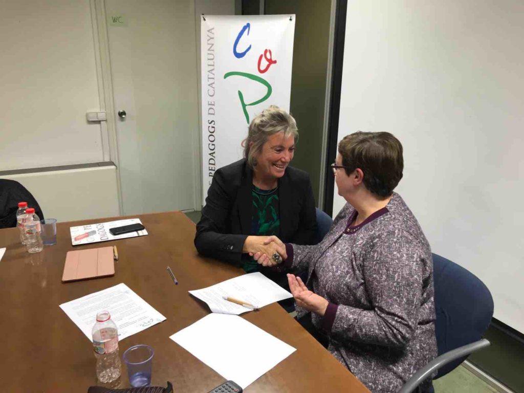 ANCOPA signa conveni de col·laboració amb COPEC (Col·legi de pedagogs de Catalunya)